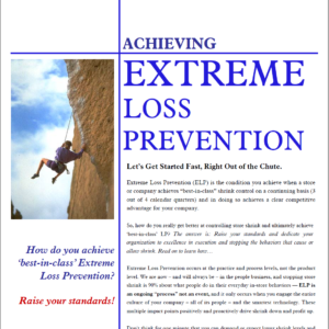 Extreme Loss Prevention White Paper Graphic