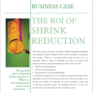 ROI of Shrink Reduction Graphic