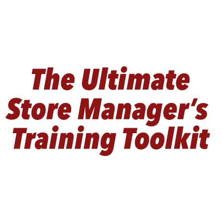 The ultimate store managers training toolkit logo