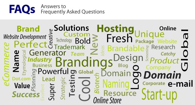 answers to frequently asked brand development questions