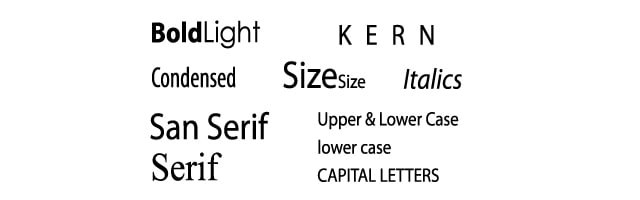 Typeface and Typestyle For Your Logo