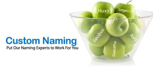 Custom Company Naming - How We Do It