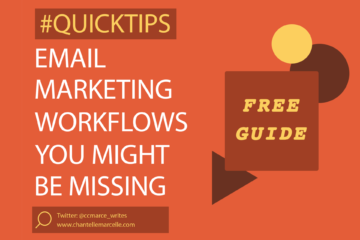 Email marketing workflows your customer experience might be missing