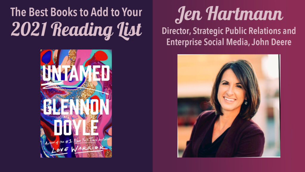 Jen Hartmann, Director, Strategic PR and Enterprise Social Media, John Deere