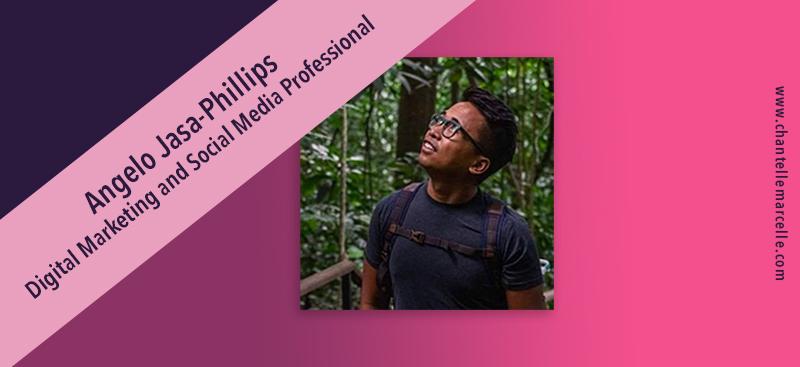 angelo jasa-phillips, marketing and social media professional
