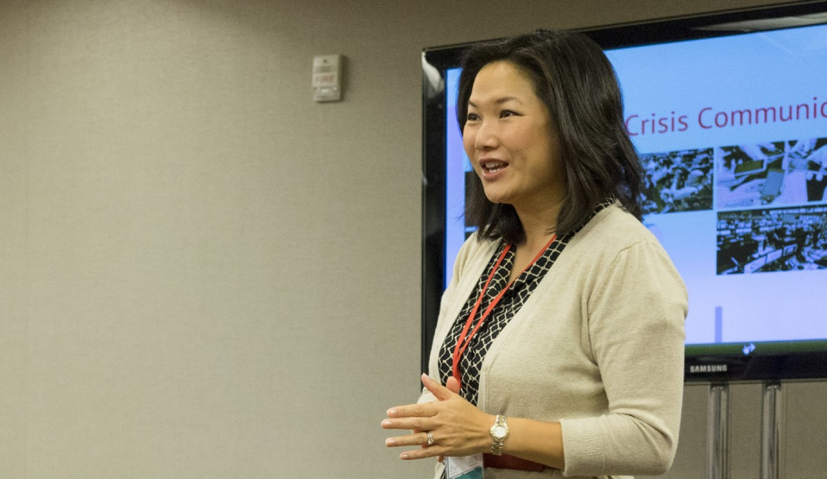 AAJA's Member of the Year, Pamela Wu, helps chapter lead the way