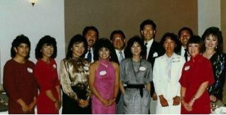 Original board and chapter members