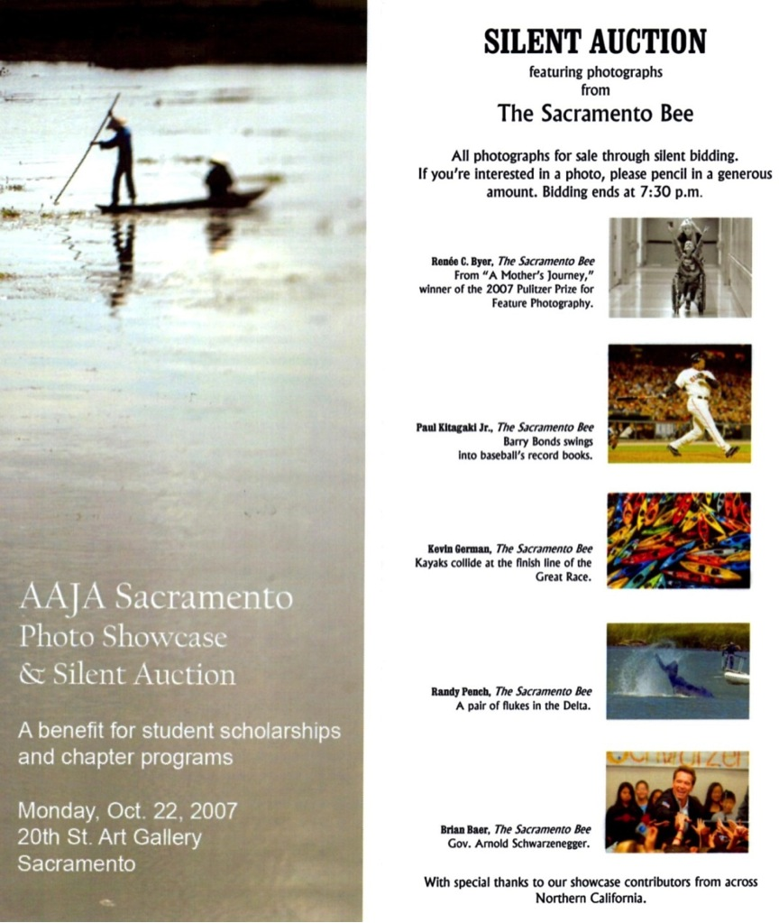 Silent auction 2007