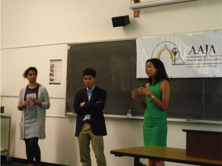 Student outreach at Sacramento State