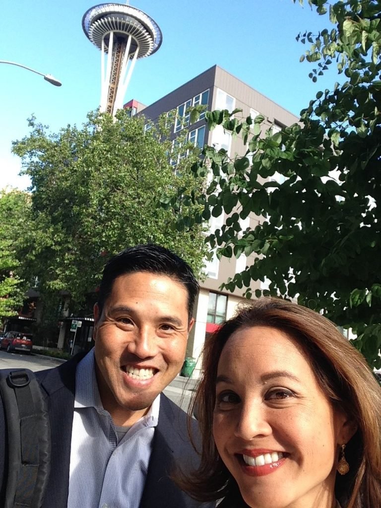 Ryan Yamamoto and Suzanne Phan in Seattle.