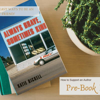 Easy Ways to Support An Author Pre-launch