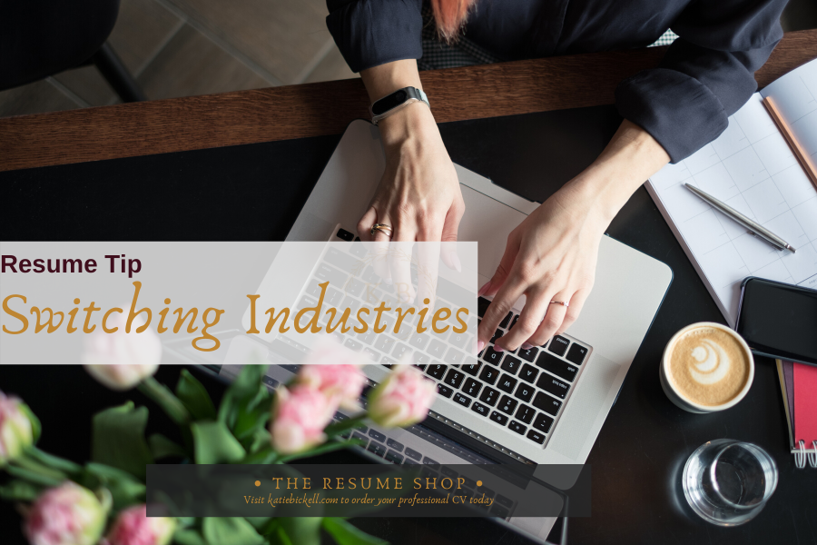 What to Put on Your Resume when Switching Industries