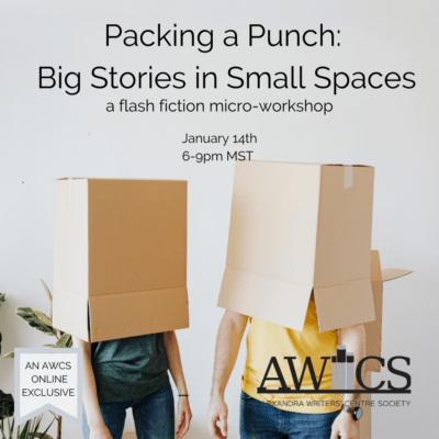Join Me in January to Learn About Flash Fiction!