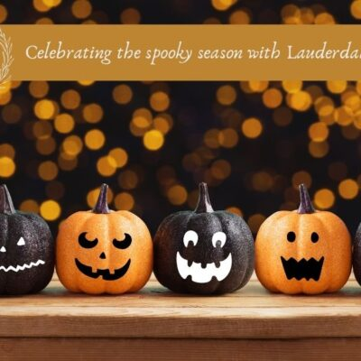 Celebrating the spooky season with Lauderdale School