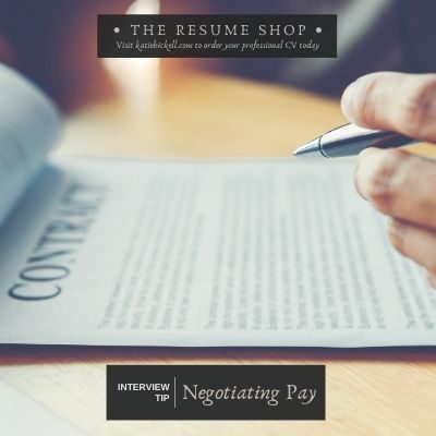 Interview Tip: Negotiating Pay