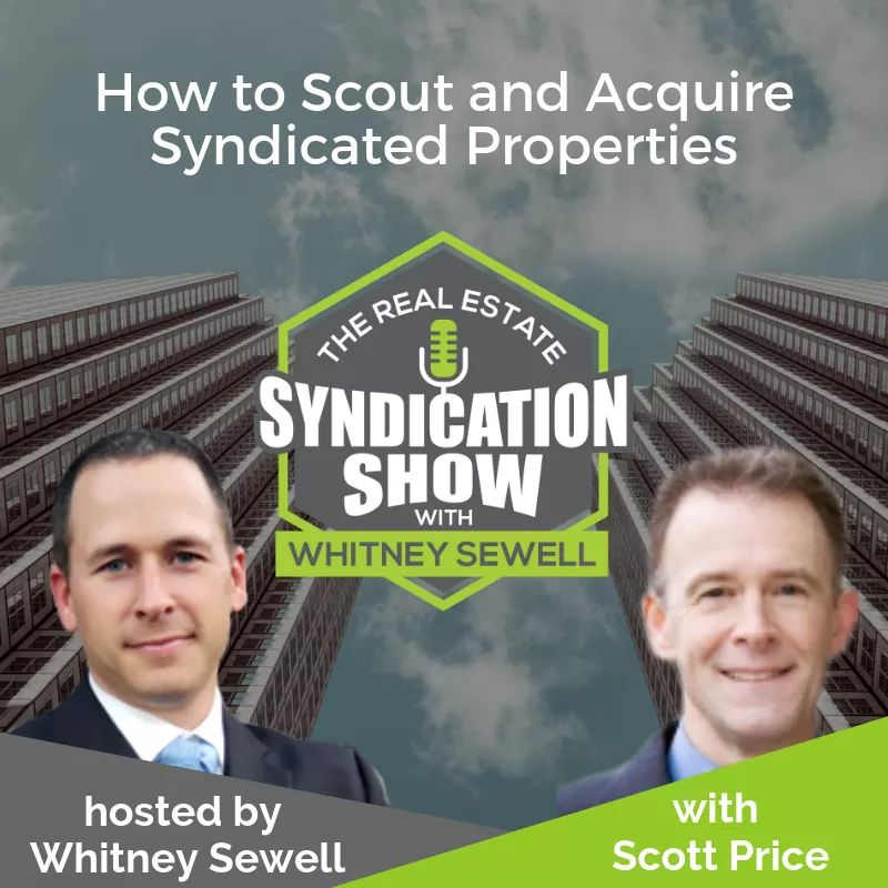 Real Estate syndication and real esate deal