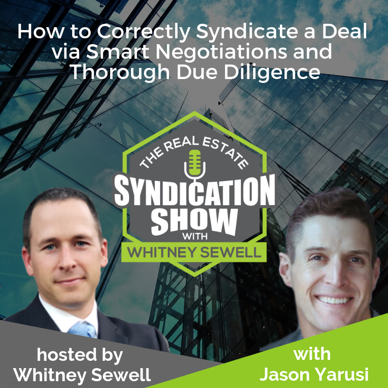 real estate syndication and real esate investing