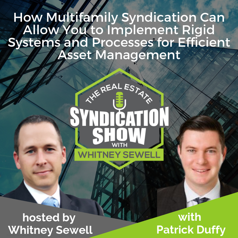 real estate multifamily syndication and investing