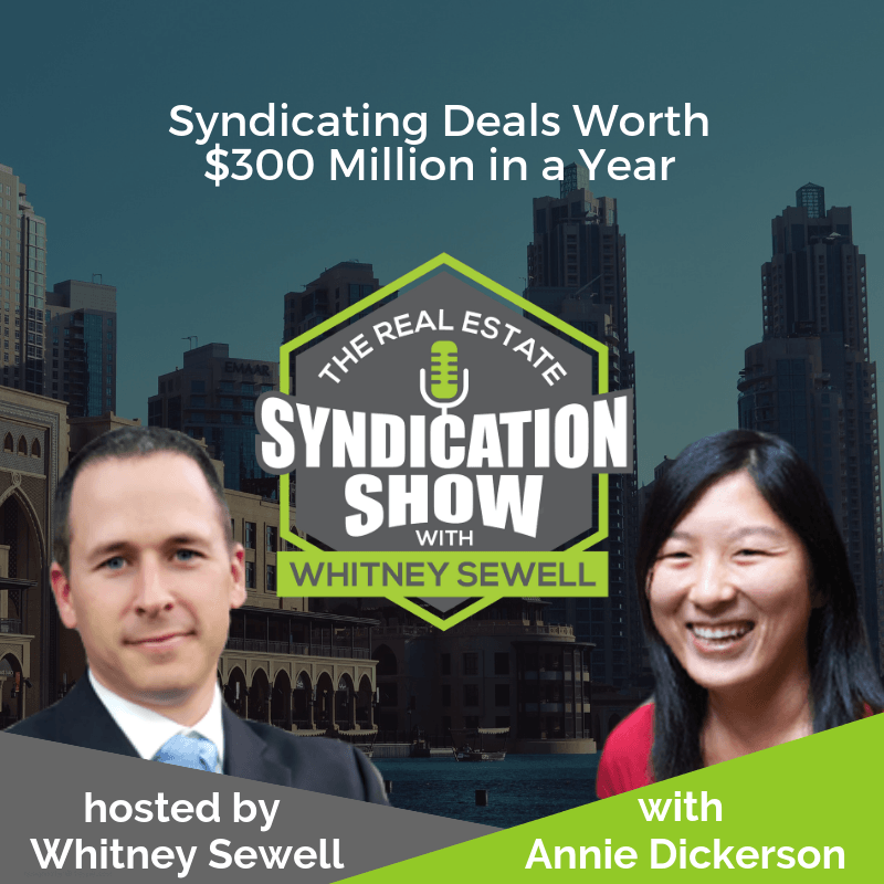 real estate syndication, real estate deal, real estate investing