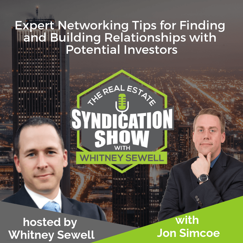 Networking Tips for Real Estate Syndication