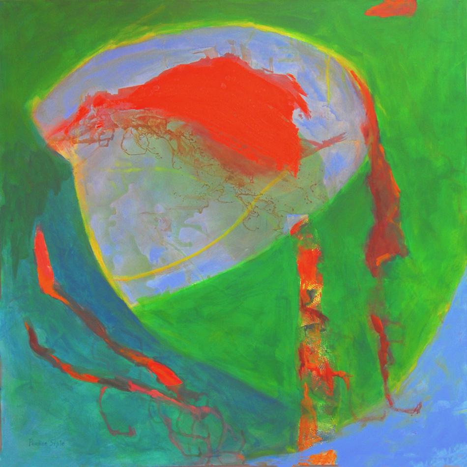 Dream Catcher, 36x36, acrylic on canvas, $500