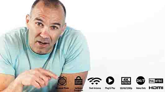 Wireless Prime 4K Encrypted Video Transmission
