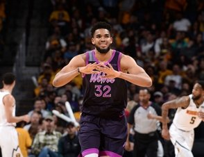 karl towns hace un doble doble y horford anota  boston gana