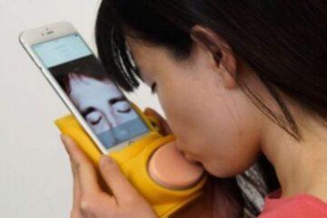beso por video