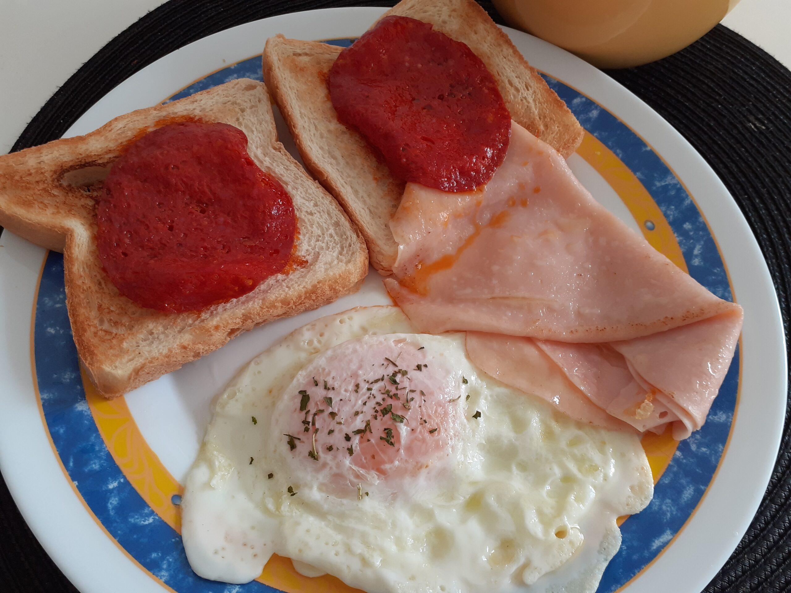 Receta Desayuno quédate en casa breakfast
