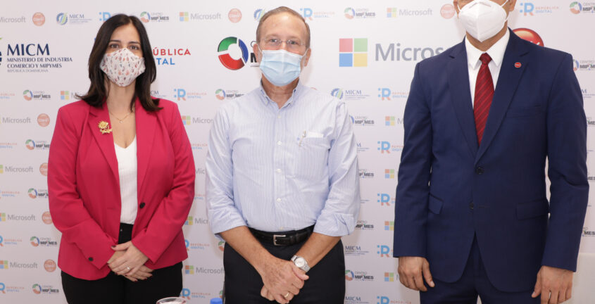 MICM, Claro y Microsoft se unen para impulsar