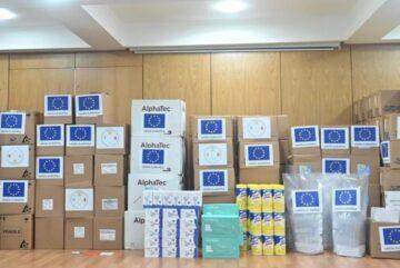 Equipo Europa realiza donaciones a República Dominicana