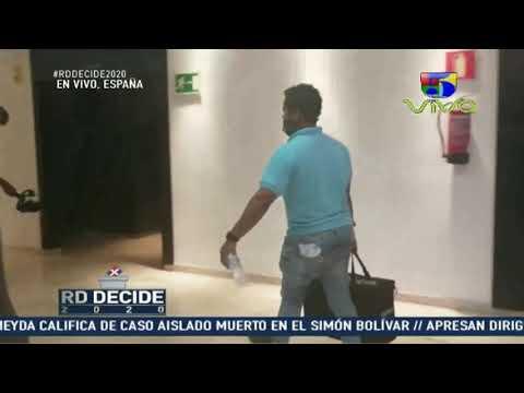 Cierre de votación en España