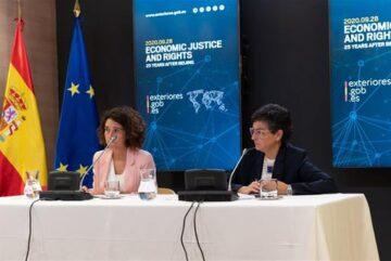 España impulsa la justicia económica y los derechos de las mujeres