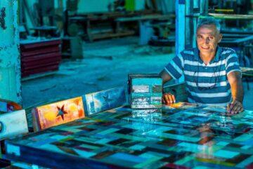 Artforo inaugura la obra Behm Organics de Georges Thevenet en BlueMall Punta Cana