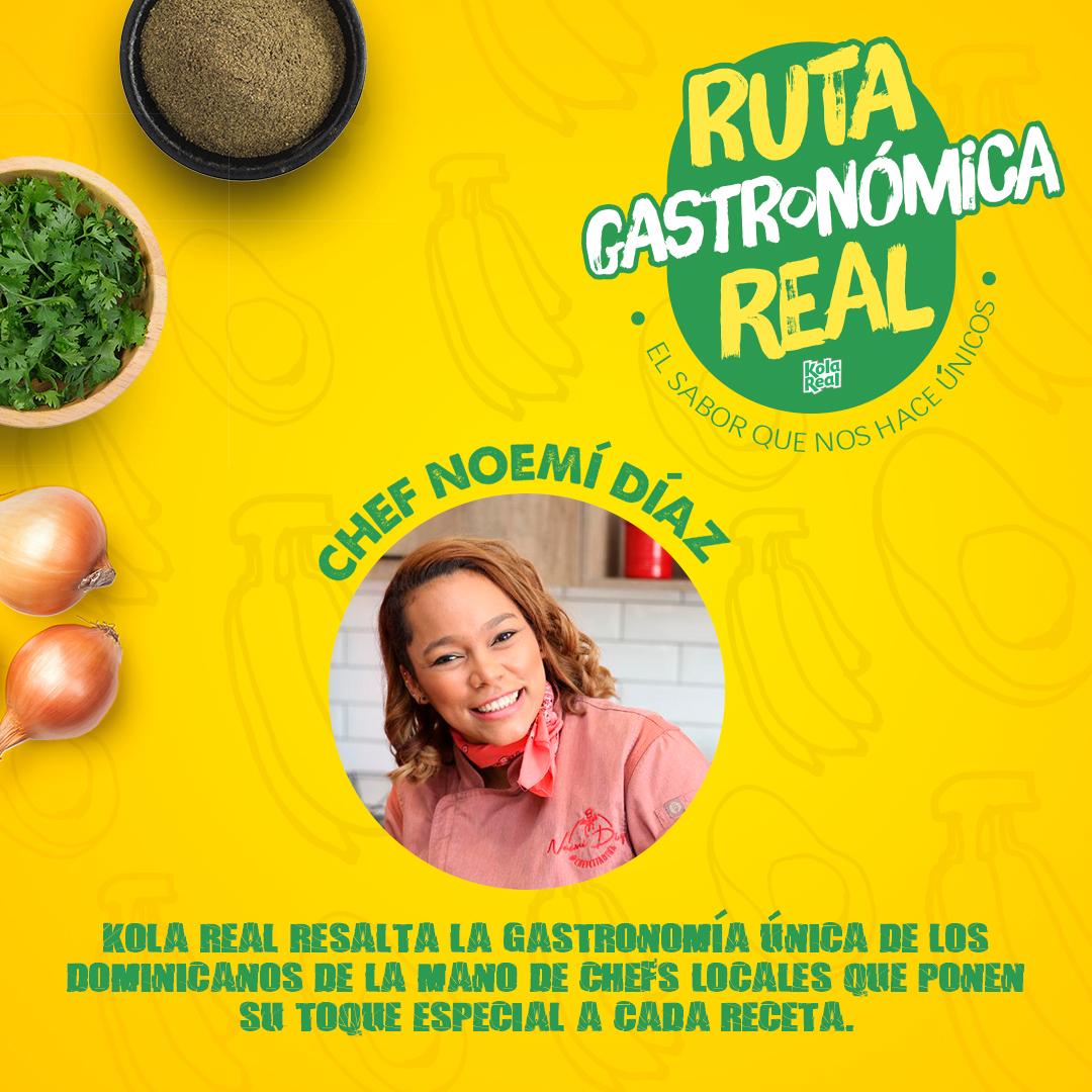 Kola Real resalta la cocina dominicana con nueva versión de la Ruta Gastronómica Digital