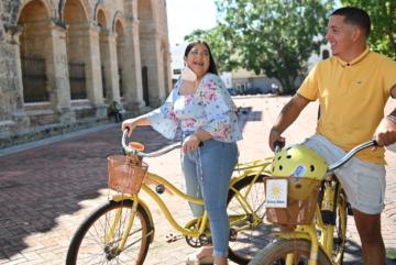 Ciudad Colonial, un recorrido por la historia en transportes amigables