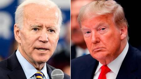 Trump y Biden cabeza a cabeza en elecciones