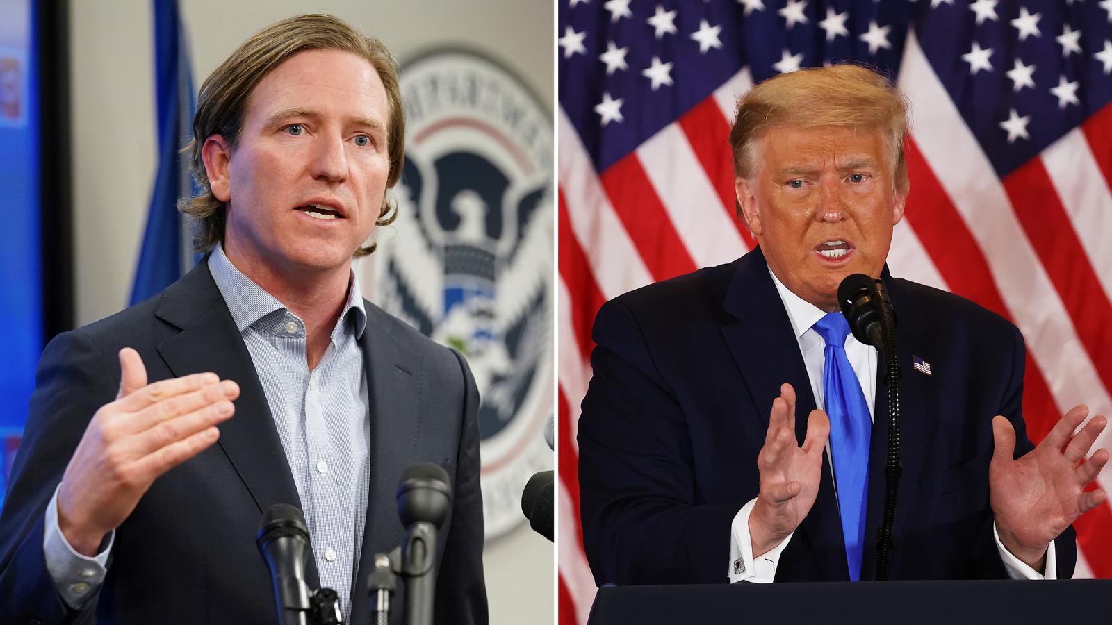 Trump despide al jefe de seguridad cibernética
