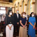 Presidente Luis Abinader participa en misa por Día de Nuestra Señora de la Altagracia