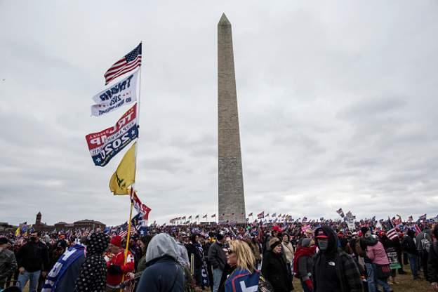 El icónico Monumento a Washington de la capital de Estados Unidos