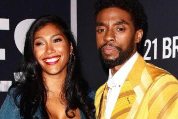 La viuda de Chadwick Boseman rinde homenaje