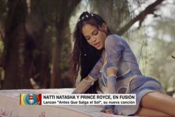 Natti Natasha y Prince Royce cantan juntos «Antes que salga el Sol». La canción es un anticipo del segundo álbum de Natti Natasha. Marcela Godoy lo cuenta en CNN Primera Mañana.