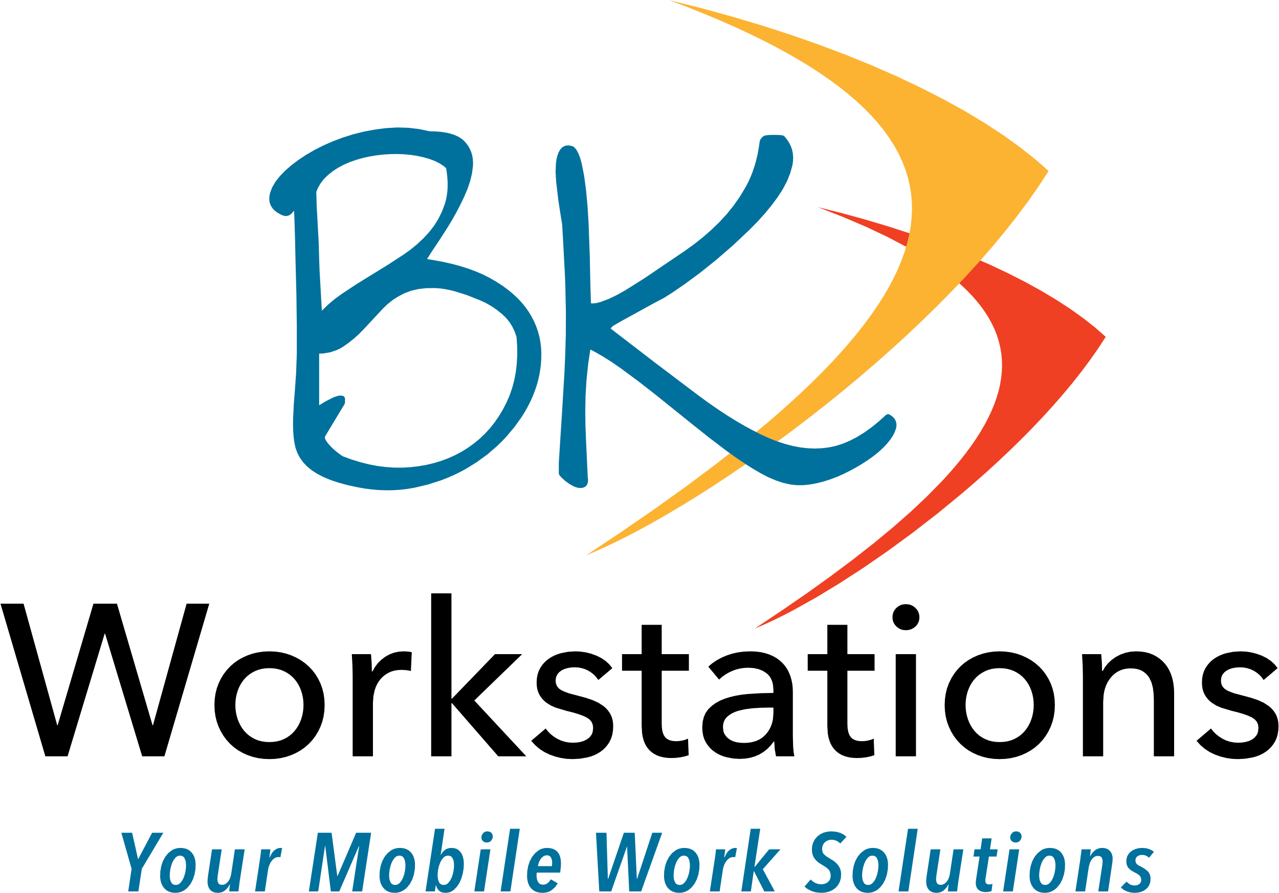 BK Workstations - Your mobile work solution.