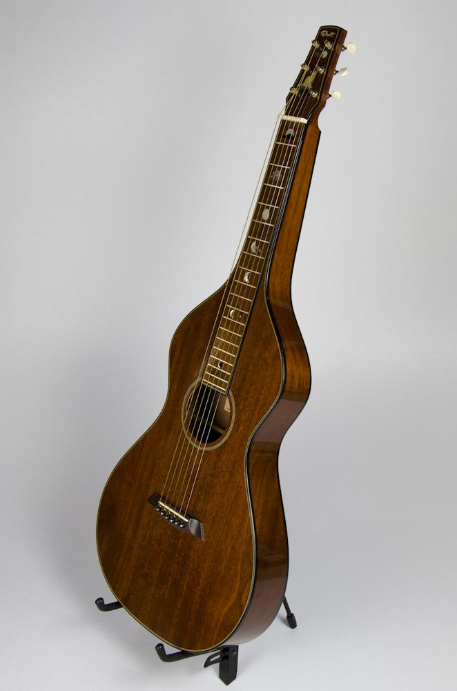 David Dart Mahogany Hawaiian Steel Guitar, Style 2