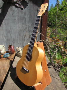 Monterey Cypress Tenor Ukulele (ladder-braced)
