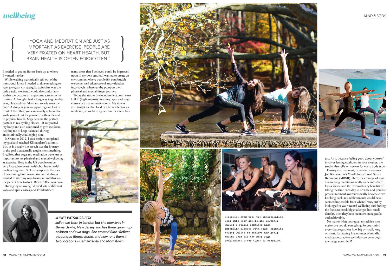 Featture, Finding Balance, Judith Rae, Yoga