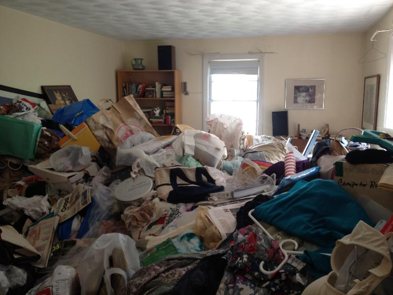 How to help a hoarder