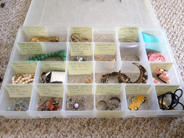 Organizing Heirloom Jewelry