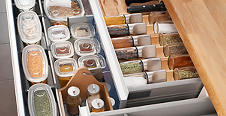 Kitchen Organizing in Small Steps