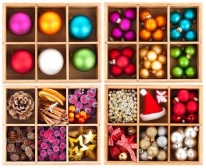 organize holiday storage